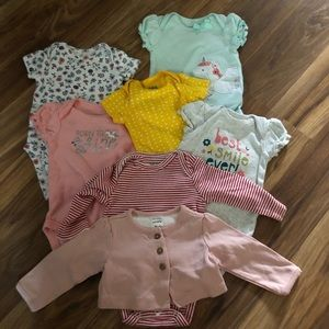 💥 7 Pc Carters Baby Set 💥 0-3M